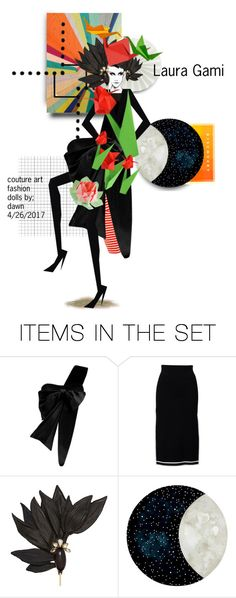 """LAURA GAMI"" by dawn-lindenberg ❤ liked on Polyvore featuring art"