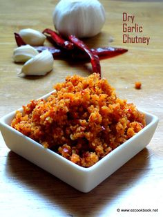 Dry Garlic(Lahsun) Chutney | Vada Pav Red Chutney ~ Teekha Chutney Powder | EzCookBook