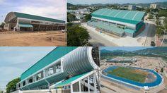 Así van las Obras para los Juegos XVIII  Bolivarianos En Santa Marta Col...