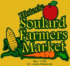 Soulard Farmers Market is located at 730 Carroll Street in St. Louis, Missouri. The market is open Wednesday thru Saturday, year round!    http://www.soulardmarket.com/