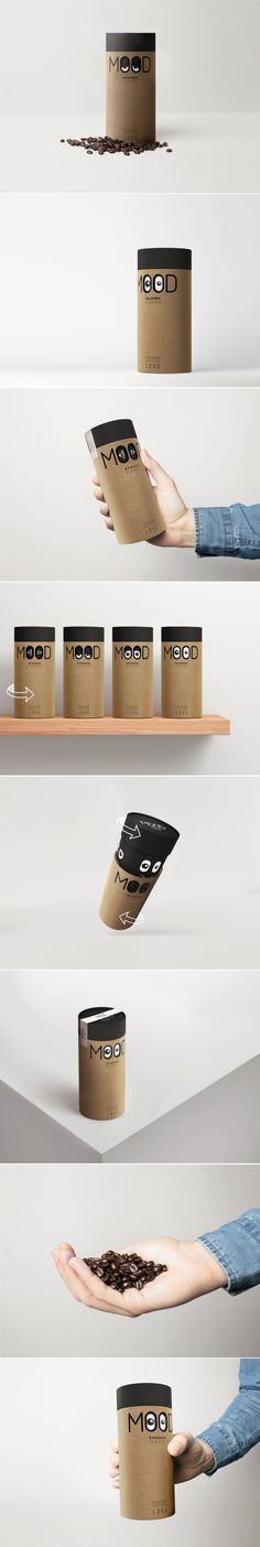 This Fun Coffee Concept Will Help You Get In the Right Mood To Take on the Day — The Dieline   Packaging & Branding Design & Innovation News