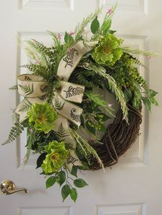 Spring Wreath FREE SHIPPING Mother's Day Wreath by FunFlorals