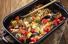 Gemüsegratin mit Mozzarella