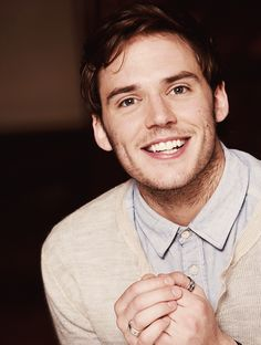 Sam Claflin. Can I have him? I'll take good care of him I promise. I'll feed and water him every day!