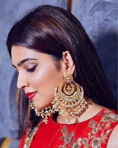 Fashion D, Fashion Jewellery, Fashion Earrings, Selfie Poses, Selfies, Budget Bride, Shadow Photography, Ethnic Looks, Gold Hair