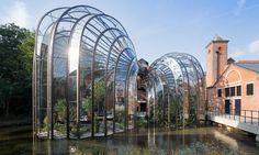 The star designer behind the Olympic cauldron and Routemaster bus has turned his attention to the Bombay Sapphire premium gin brand, creating bell jar glasshouses for its distillery – and inventing a heritage that it's never had, writes Oliver Wainwright
