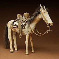 Navajo folk art horse, c1930