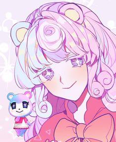 Animal Crossing Amiibo Cards, Animal Crossing Fan Art, Animal Crossing Memes, Animal Crossing Villagers, Character Art, Character Design, Pokemon, Human Art, Kawaii