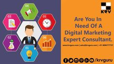 KRV Guru is an Award winning Best & Top Digital Marketing Agency in Hyderabad.Outsource digital marketing agency India services to the experts in KRV Guru. Top Digital Marketing Companies, Social Media Marketing, Marketing Consultant, Branding Agency, Seo, Training, Check, Hyderabad, India