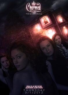 "Charmed Official Poster ""Once A Witch, Always A Witch"" This is the Final/Official poster for the series finale trailer/script. Charmed Season 8, Charmed Tv Show, Julian Mcmahon, Charmed Book Of Shadows, Charmed Sisters, Gilmore Girls, Witch, Tv Shows, Christian"