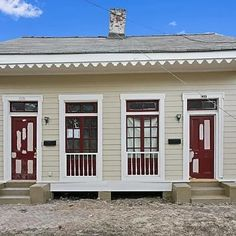 SOLD! 1531-33 N. Villere Street, New Orleans, LA $239,000 Faubourg Treme, 3 Bedroom/ 3 Bath Multi Family Home, Co-Listed with Katie Witry Gardner Realtors, New Orleans Real Estate