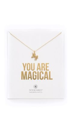 Dogeared You Are Magical Necklace