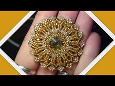 DIY tutorial Ciondolo Modigliani - Superduo / twin beads Pendant - YouTube