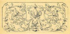 Antique Clip Art - Romantic Scrolls - The Graphics Fairy