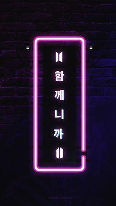 wallpapers kpop wallpaper for phone - wallpapers kpop Bts Wallpaper Lyrics, Army Wallpaper, Neon Wallpaper, Tumblr Wallpaper, Iphone Wallpaper, Bts Backgrounds, Bts Quotes, Purple Aesthetic, Korean Aesthetic