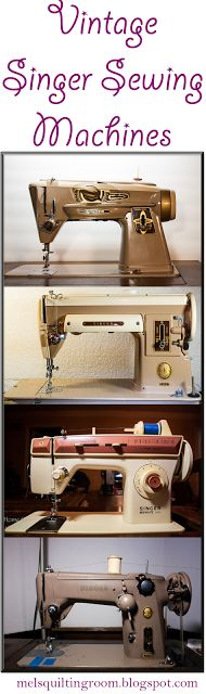 All Vintage Singer Sewing Machine Demos and Reviews Located in One Location.