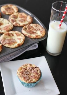 These Snickerdoodle Muffins are great for a special breakfast!