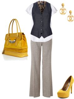 """work look"" by ali-laprade on Polyvore"