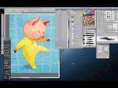 Digital Collage Illustration Tutorial - Laura Zarrin