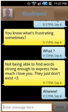 Boyfriend texts, sweet messages, prince charming, love him!