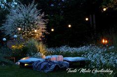 Light in the garden Diy Garden Decor, Garden Decorations, Garden Architecture, More Pictures, Outdoor Furniture, Outdoor Decor, Lights, Beautiful, Budget
