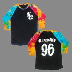 Taylor Caniff 96 Tie Dye Sleeve at MerchNOW