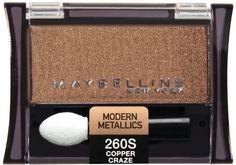 Maybelline Expert Wear Single Shadow - Copper Craze, 2 Ea. Maybelline Expert Wear Single Shadow - Copper Craze, 2 Ea.