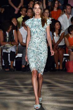 Christian Siriano défilé printemps/été 2015 #mode #fashion