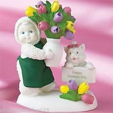 Snowbabies Department 56 Flowers For You Fine Porcelain Figurine (BRAND NEW)