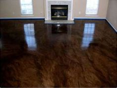 Stained concrete flooring,Special finish concrete, stained cemet - $2 ...