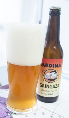 Medina Gringaza 30. American Pale Ale. 5.2º