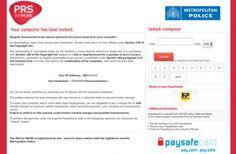 Malware exige pagamentos por violação de direitos de autor