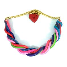 Straw Candy Necklace