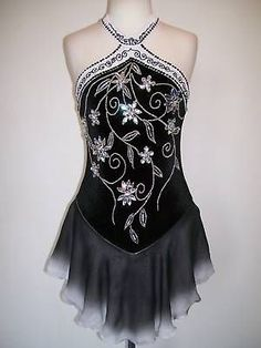 CUSTOMIZED ICE SKATING BATON TWIRLING DRESS