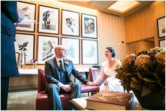 Wedding Ceremony in the Audobon Room at the Overture Center for the Arts in Madison, WI. Photo by Tres Jolie Photos