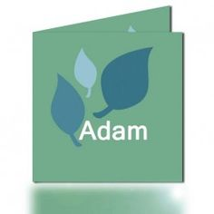 Geboortekaartje Adam (incl. envelop) www.popsjesenco.com