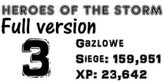 Gazlowe3: Siege damage(159,951) / XP contribution(23,642) / 18min - Hero...