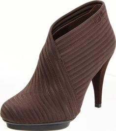 United Nude Women's Fold Deluxe Ankle Boot,Dark Brown www.danielli.co.uk