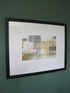 Black frame-print-S G Clark-Forget To Remember