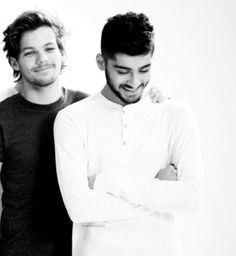 Louis Tomlinson and Zayn Malik. These boys could kill baby kittens and I wouldn't mind.