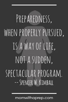 Preparedness Quotes Vol. 3 | Mom with a PREP
