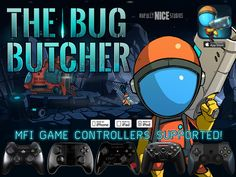 Super Fun 2D Platform Shooter, Currently only iPhone version supports MFi Game Controllers.!