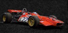 De Tomaso F1 car.