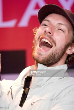 Chris Martin of Coldplay during Coldplay Press Conference - Final Performance of their 'X&Y' Tour in Mexico City - March 4, 2007 in Mexico City, Mexico, Mexico.
