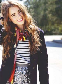¡¡¡¡Lily Collins!!!! :)