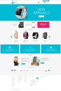 Magento Template , Watches