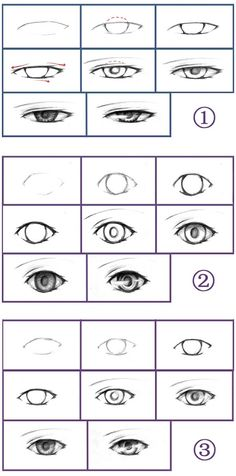 How to draw Manga Eyes #drawing #manga #eyes #sketching #art