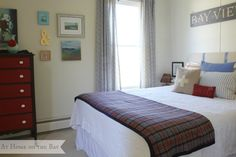 At Home on the Bay guest room tour