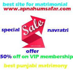 https://flic.kr/p/Ts6qwN | punjabi matrimony | Best Punjabi matrimony in India. Best marriage bureau in Punjab. Join today and get 50% off on VIP membership. www.apnahumsafar.com