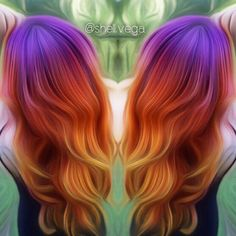sunset hair                                                                                                                                                                                 More